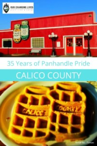 35 Years of Panhandle Pride-Calico County Restaurant-Amarillo Texas-breakfast-waffles-Route 66