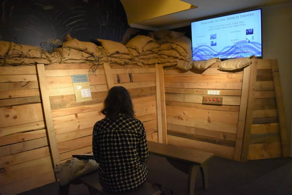 Social media breaks are a reality for travel bloggers, even when sizing up some history at the Missouri State Museum.