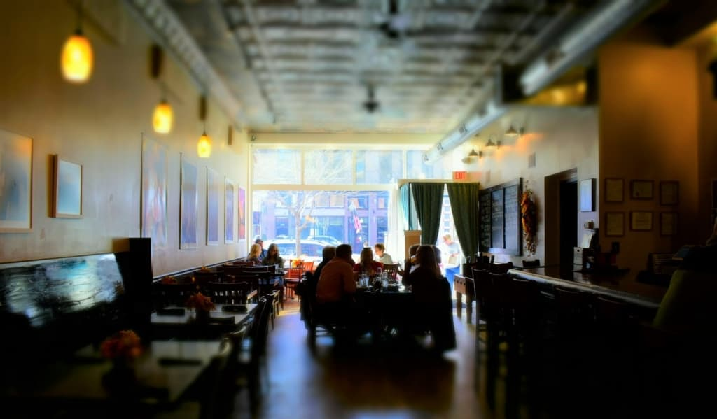A quiet morning turned to lunch time and beckoned us to experience the Grand cafe in downtown Jefferson City.