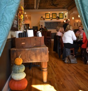 Our lunch in Jefferson City allowed us a chance to take a peek behind the curtain at The grand Cafe.