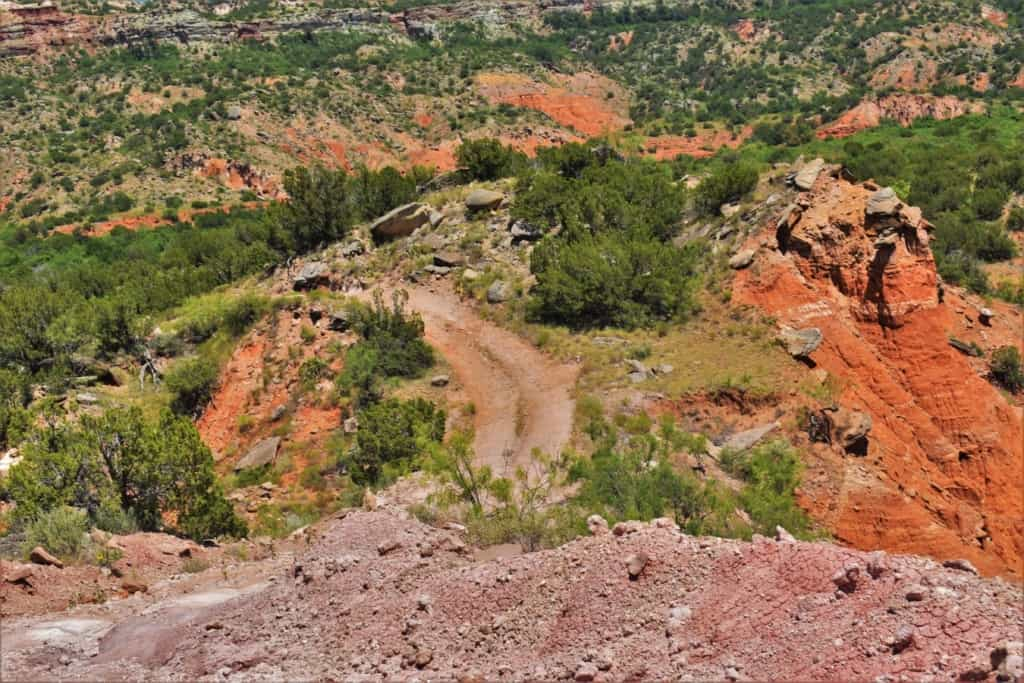 Looking down over the edge of the canyon let us know that this jeep ride would be one we would certainly remember.