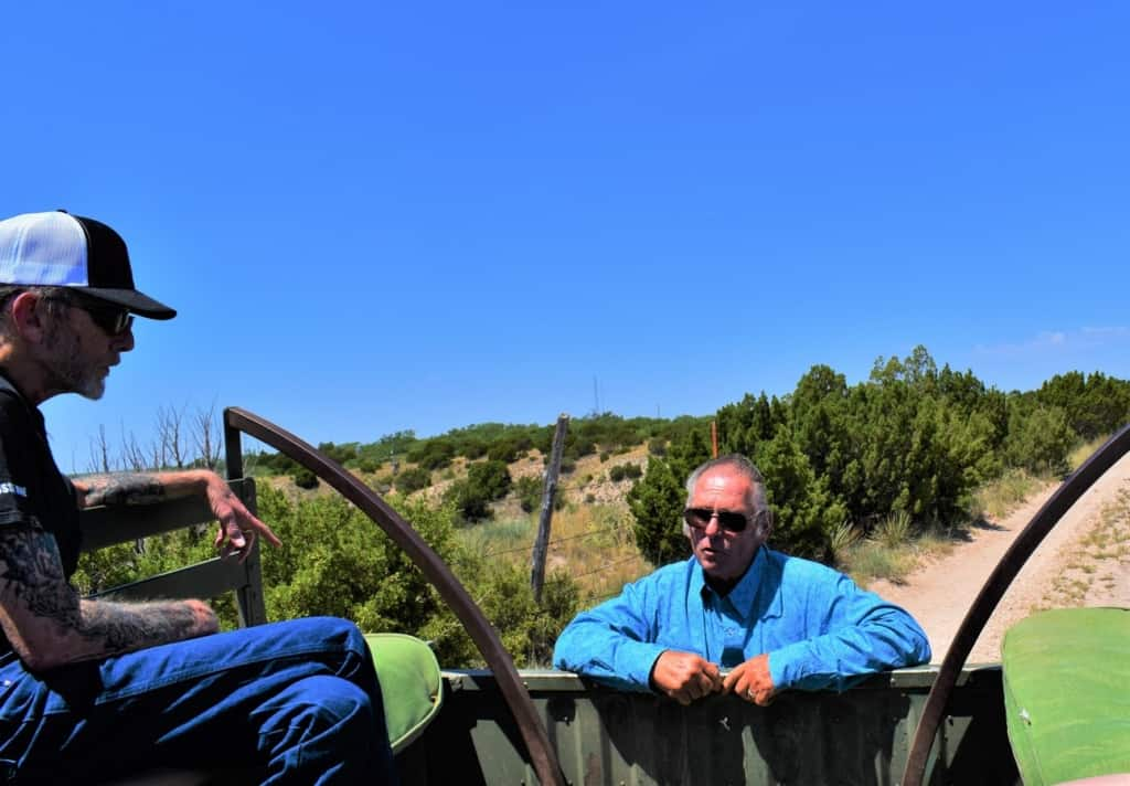 John, our tour guide, tells us some of the history of Palo Duro Canyon and the surrounding area.