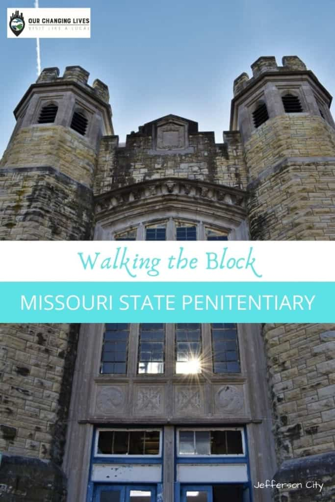 Walking the block-Missouri State Penitentiary-prison tour-executions