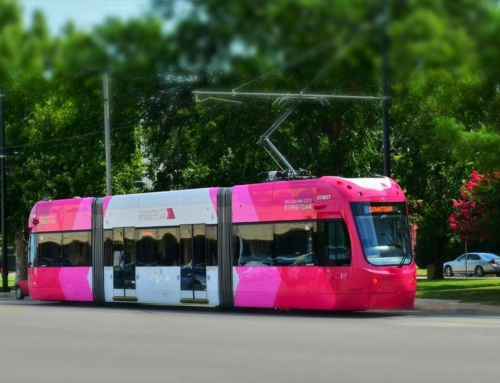 OKC Streetcar – Coloring A New Downtown