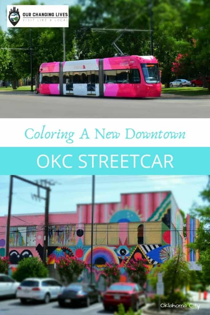 OKC Streetcar-Coloring a new downtown-Oklahoma City-transportation-public transit