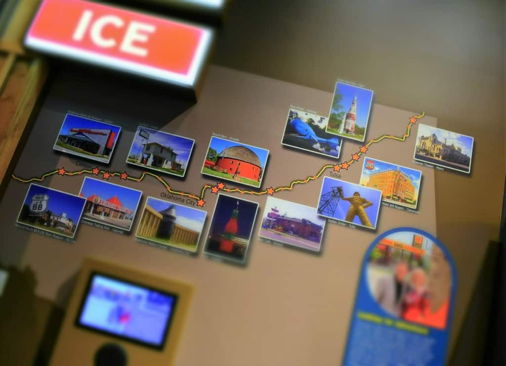 The addition of Route 66 to Oklahoma helped draw a new generation of visitors to the state.