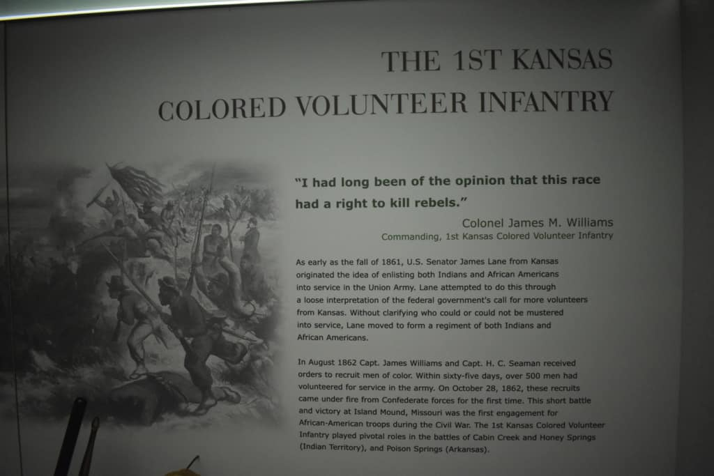 Touching the past included learning interesting facts about skirmishes we never realized happened during the Civil War.