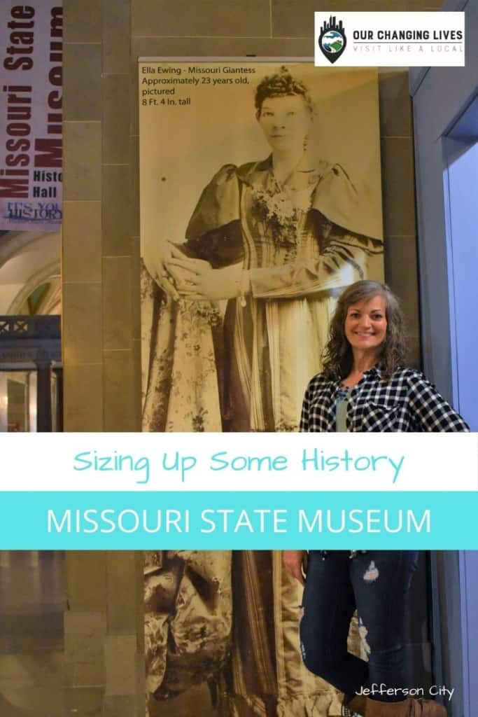 Sizing up some history-Missouri State Museum-Missouri history-Civil War-Jefferson City