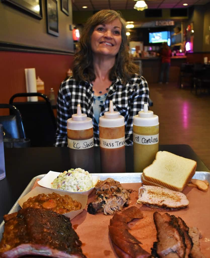 With a choice of sauces, the flavor combinations are almost endless at Sweet Smoke BBQ.