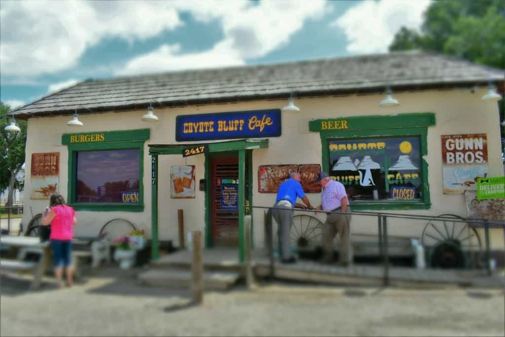 The small size of Coyote Bluff Cafe hides the huge favors that are found inside this Amarillo restaurant.
