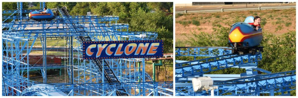 The Cyclone is an older roller coaster but it still offers plenty of thrill to riders.