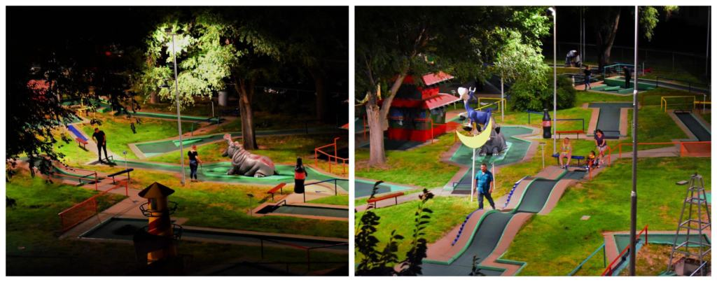 Miniature golf is another attraction that is bringing fun to the Panhandle.