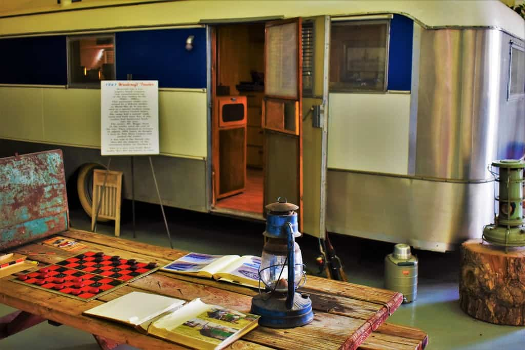 You can take a walk down memory lane at Sisemore Traveland RV Museum.