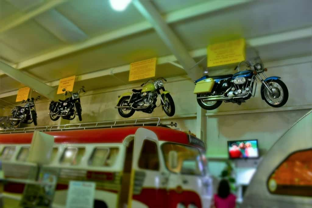 With so many artifacts to display, you have to really look around when visiting the Sisemore Traveland RV Museum.