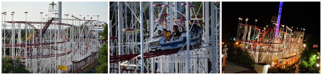 There are a handful of roller coasters designed to get riders screaming with delight.