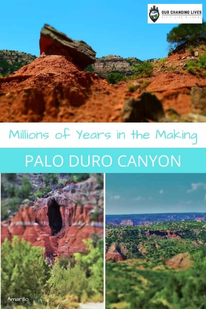Palo Duro Canyon-Amarillo Texas-palo duro canyon state park-canyon-caves-hoodoo-nature-trails-hiking-camping