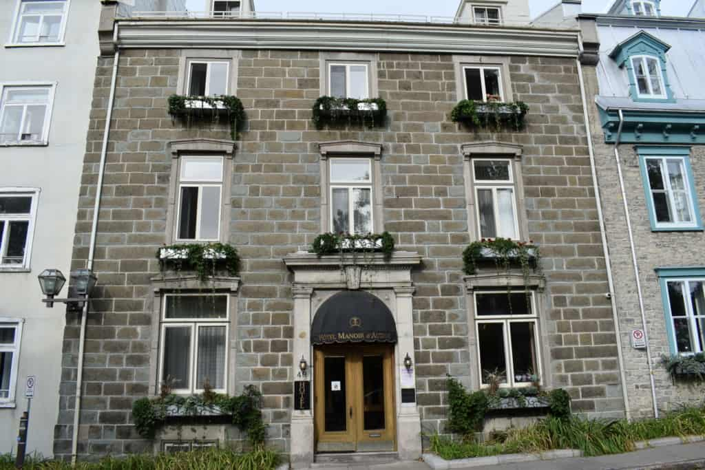 The Hotel Manoir d'Auteuil, in Quebec City, had us checking all the boxes for a perfect home base during a visit to Quebec City.