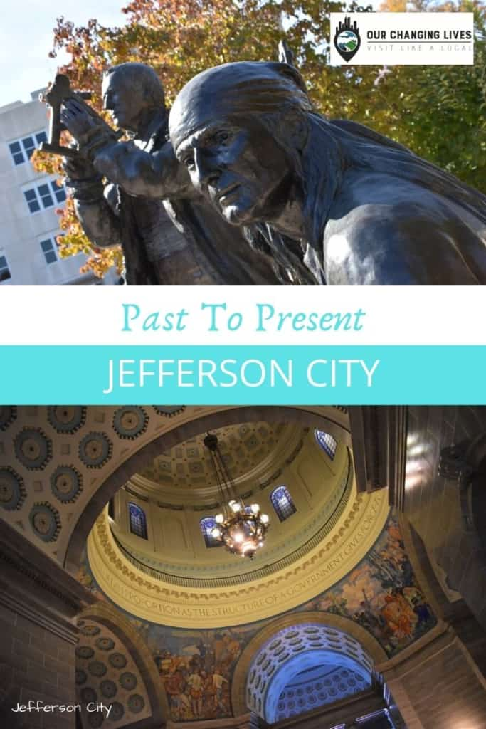 Past to Present in Jefferson City-Jefferson City Missouri-Missouri's state capital-Missouri State Penitentiary-Central Dairy-shopping-Jefferson Landing-Sweet Smoke BBQ-The Grand Cafe