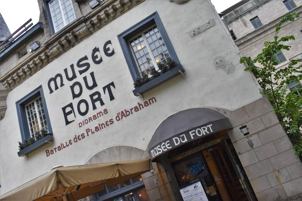 The Musee du Fort tells the story of Quebec City's battles during the 1700s.
