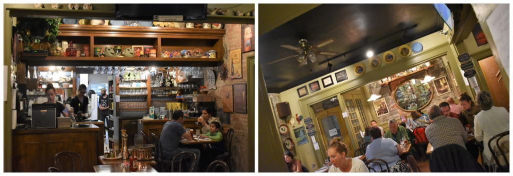 Cafe L'Omelette is a quaint dining location in the heart of Old Quebec City.