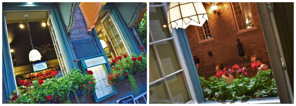 The bright colors and open windows made us feel like we were enjoying patio seating at cafe L'Omelette.