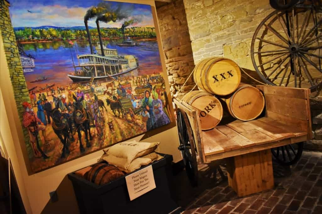 Jefferson's landing is one of the oldest buildings in Missouri's capital city.