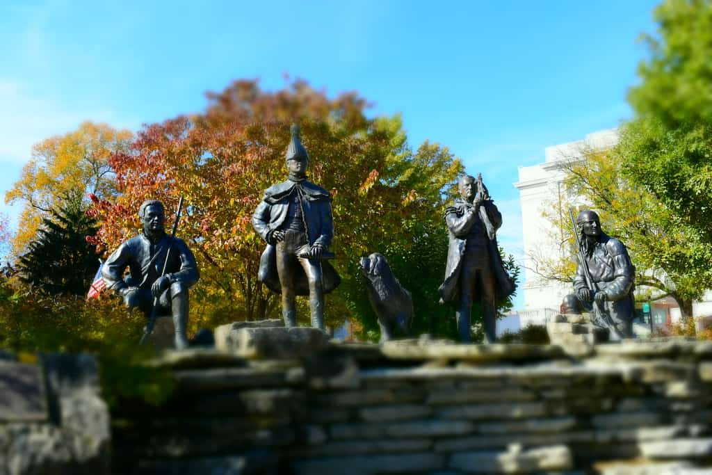 You can see history from past to present in Jefferson City.