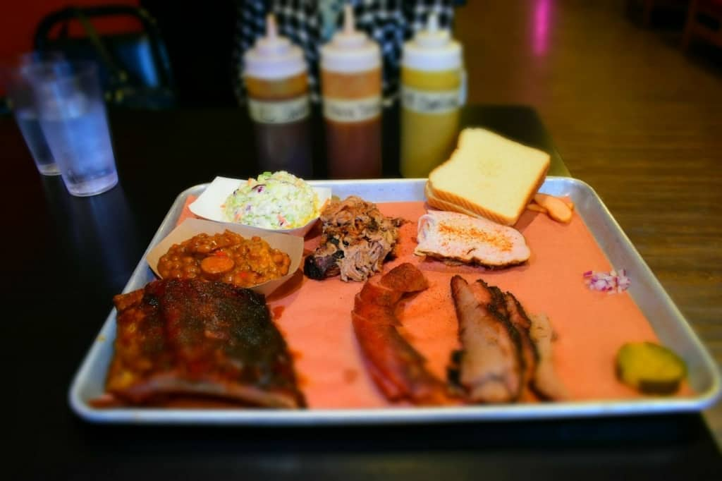 The smoky goodness of Sweet Smoke BBQ made for an appealing meal, before heading home.