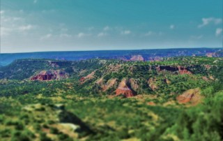 The expanse of Palo Duro Canyon is hard to fathom, even when standing on the rim.