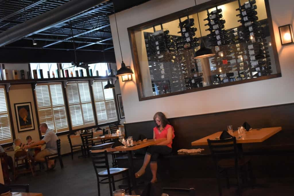 Our schedule allows us to find plenty of seating at restaurants during the early dinner time.