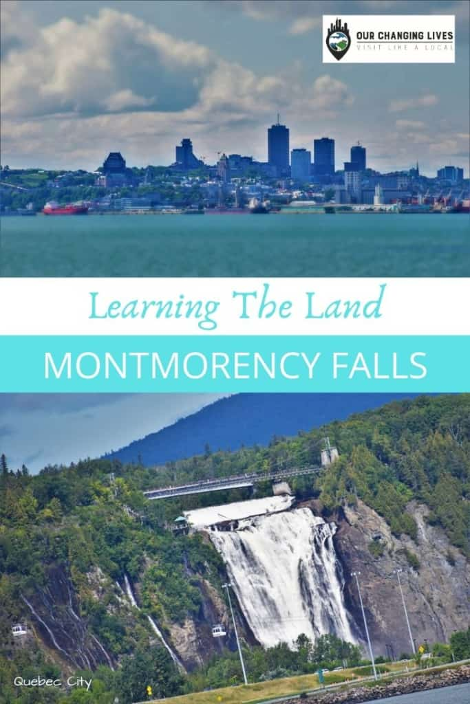 Montmorency falls-Learning the Land-Quebec City-Cicerone Tours-waterfalls-nature-zip lining