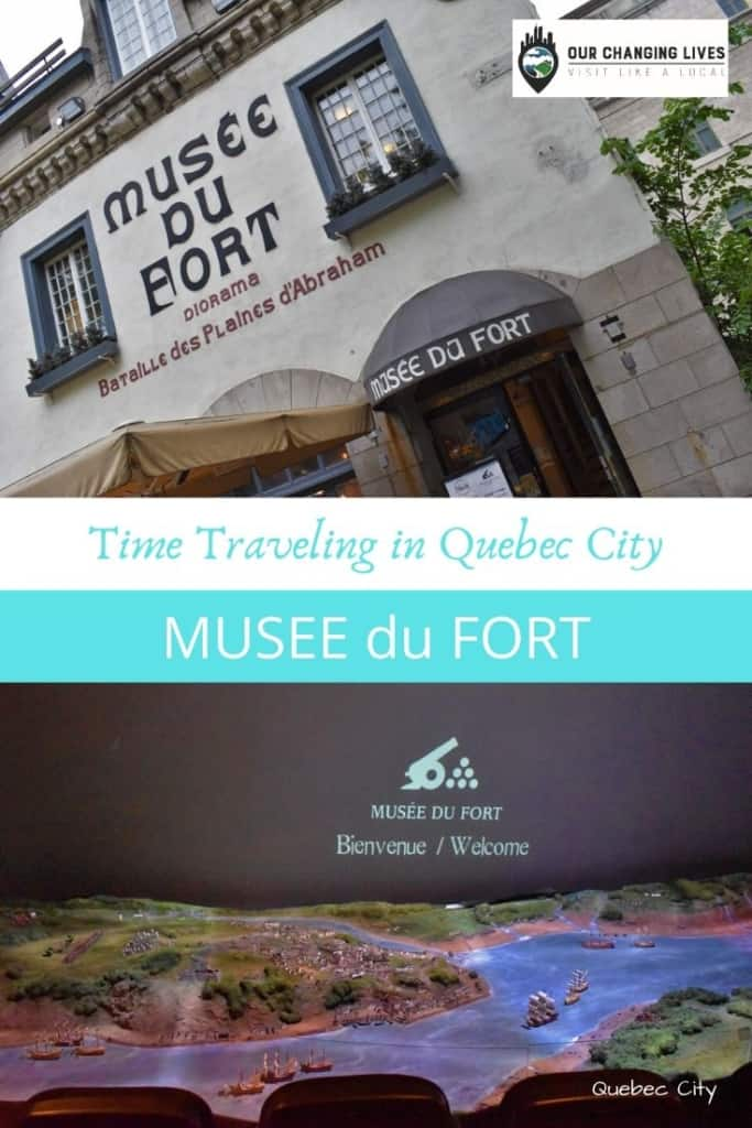 Time traveling in Quebec City-Musee Du Fort-Plains of Abraham-battles-Seven Years' war-French-British-French and Indian War
