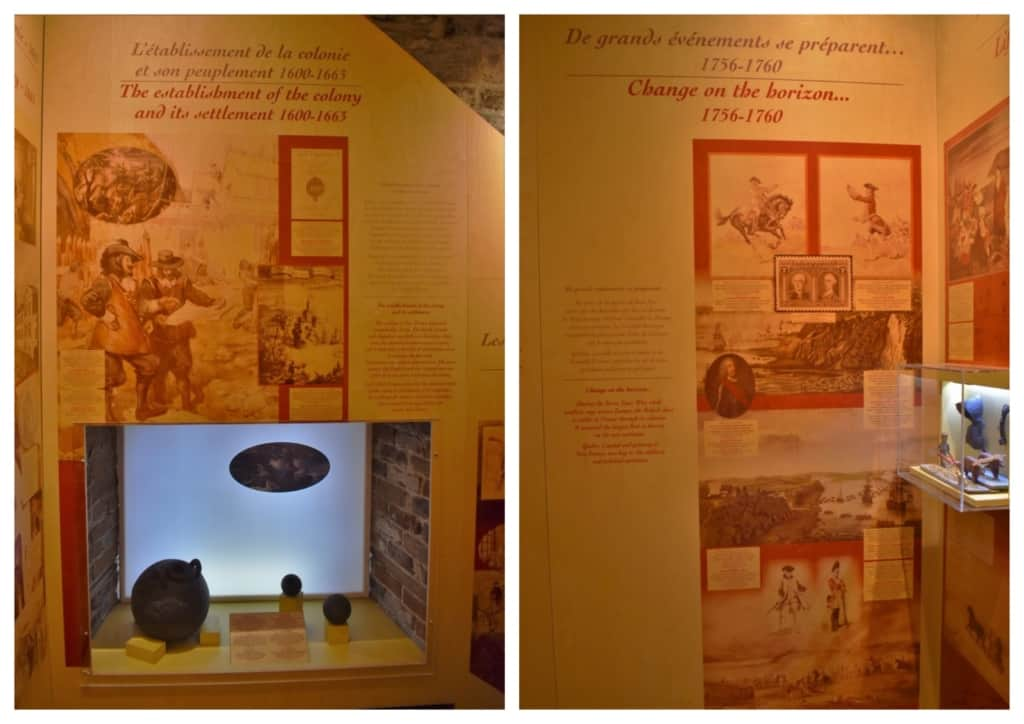 Time traveling in Quebec City included learning about the beginning of this historic Canadian city.