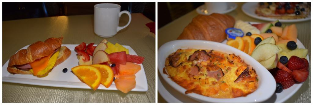 Even the simplest breakfast dish was elegantly presented , which helped us while we were checking all the boxes for a marvelous stay.