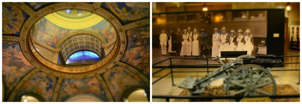Learning history, from past to present in Jefferson City, brought us to the Missouri State Capitol for an in-depth study.