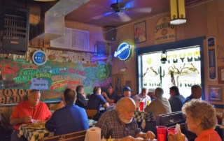 You will find lots of locals at the restaurants we have listed in this Amarillo overview.
