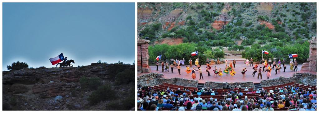 Texas Outdoor Musical is a live theater production set inside of Palo Duro Canyon near Amarillo, Texas.