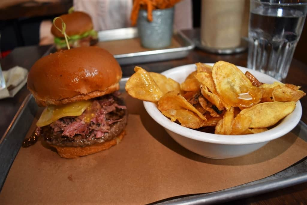 Le Shack is a meaty masterpiece that combines a myriad of flavors.