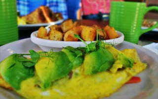 this well-balanced meal had us going green for breakfast at Girasol Cafe & Bakery.