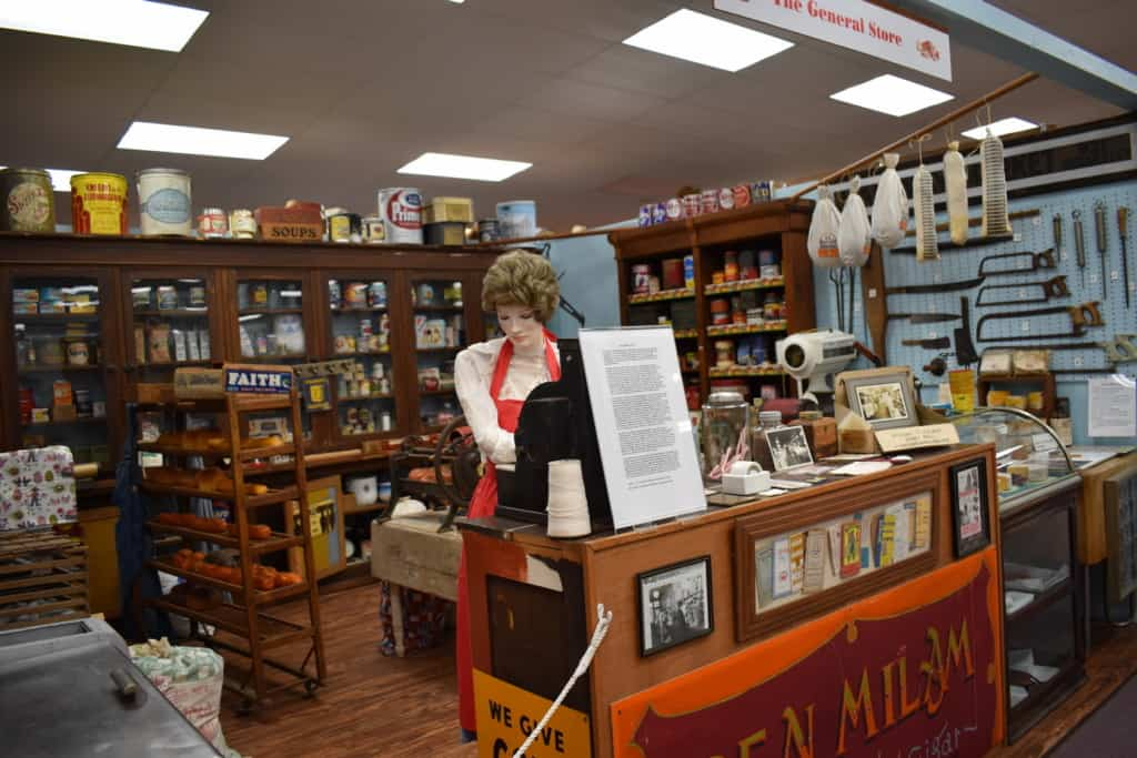 The exhibits at the Heartland of America Museum are filled with artifacts spanning many decades.