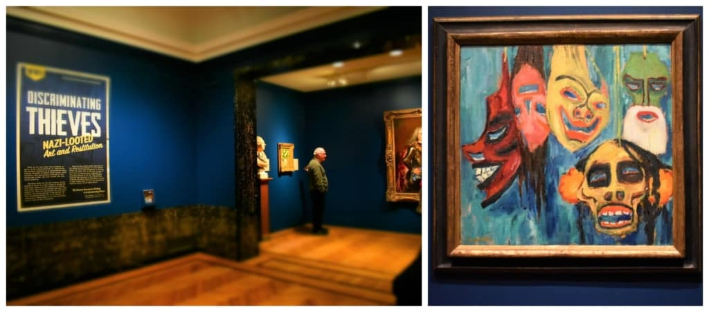 Many great artwork pieces were stolen by the Nazis during World war II.