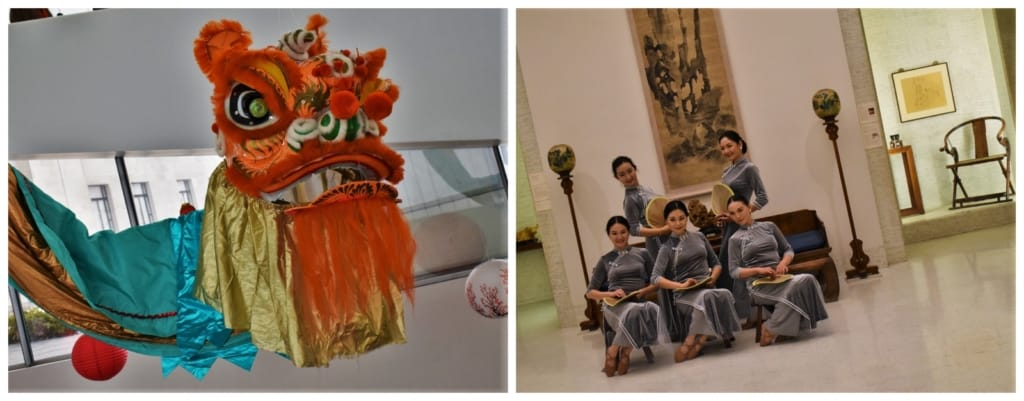The Chinese New year festival is one of many annual events that are used to engage with visitors to the Nelson-Atkins Museum of Art.