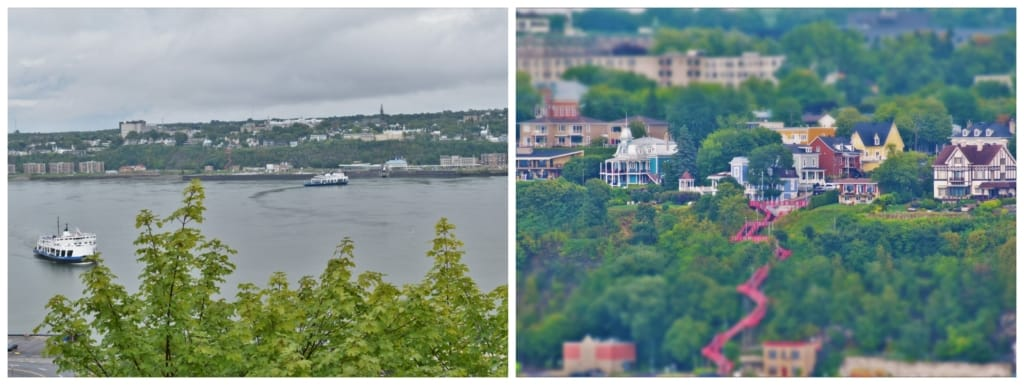 The views from Upper Town, in Quebec City, are an extra benefit for visitors to the most European city in north America.