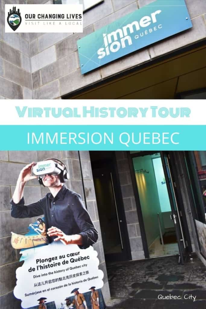 Virtual History Tour-Immersion Quebec-Quebec City-history-virtual reality-technology