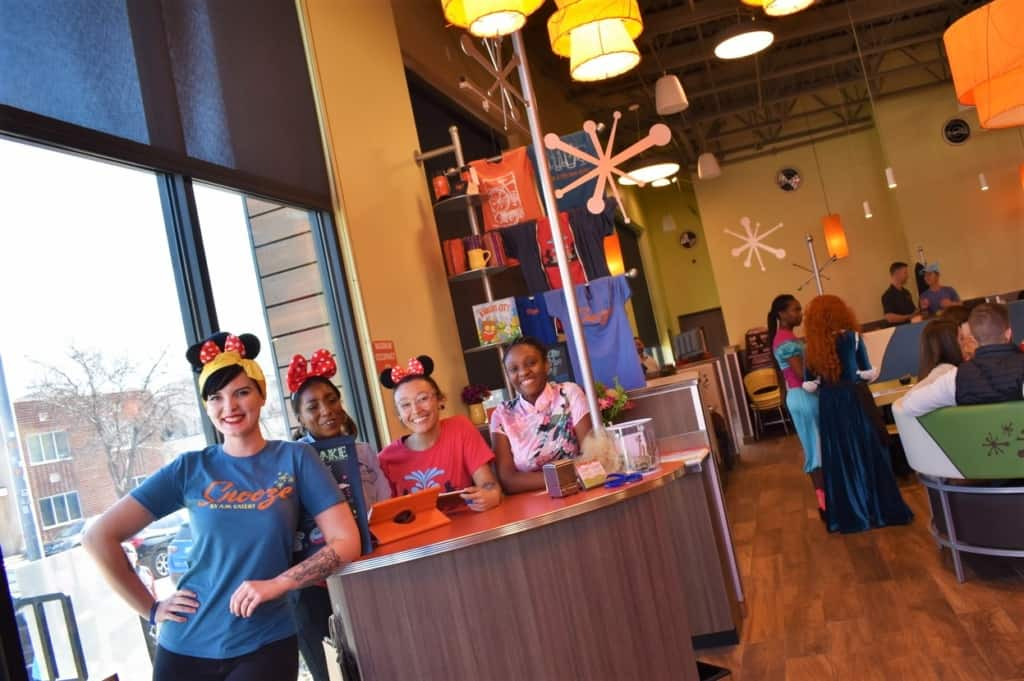 The staff was all smiles during a pre-opening visit to Snooze a.m. eatery in Kansas city.