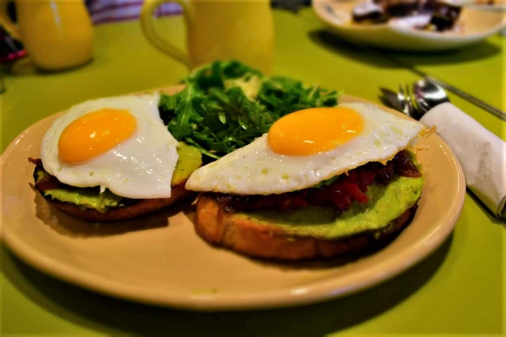 A plate of Bravocado Toast will help start your morning with a twist of flavor.