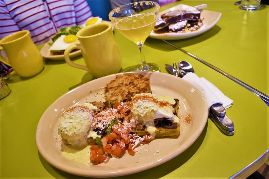 A table filled with interesting dishes makes it easy to start your morning with a twist.