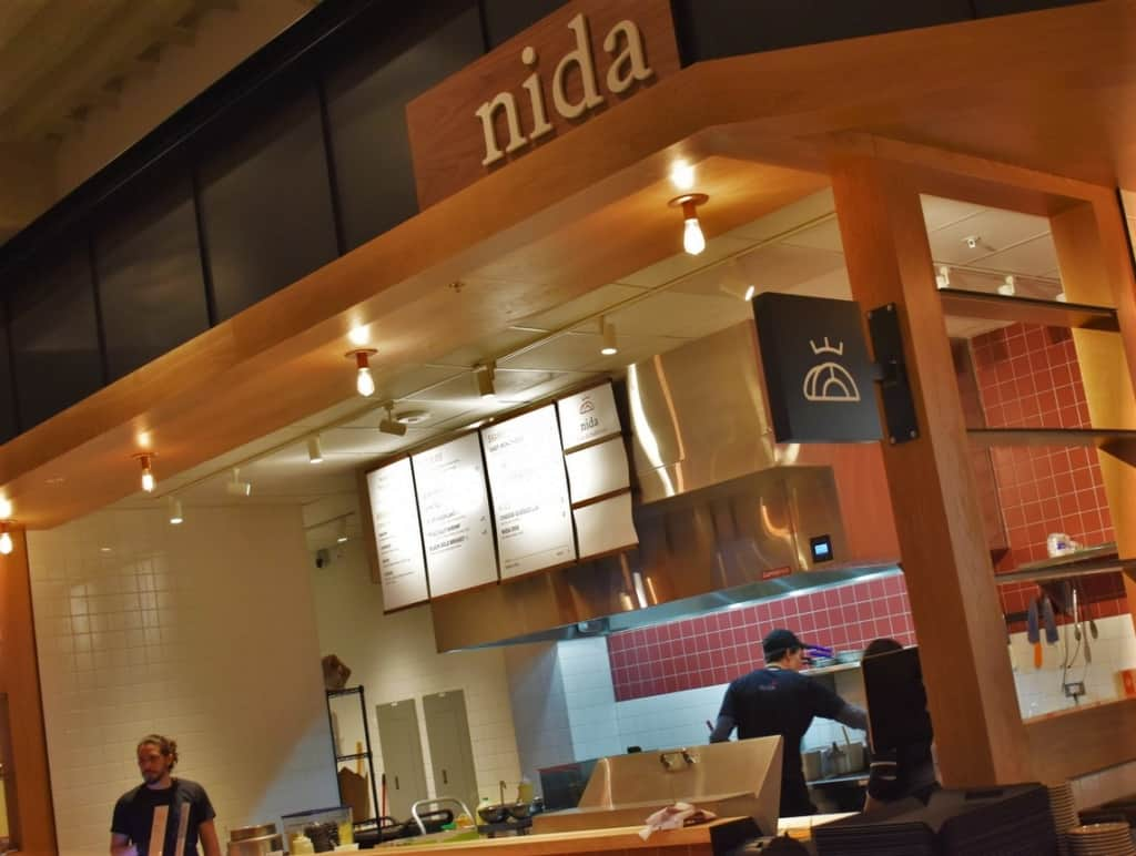 Visitors to Strang Hall will find some new favorites at Nida.