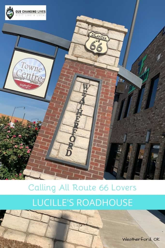Calling all route 66 lovers-Mother Road-Lucille's Roadhouse-Weatherford, Oklahoma restaurant-dining-burgers