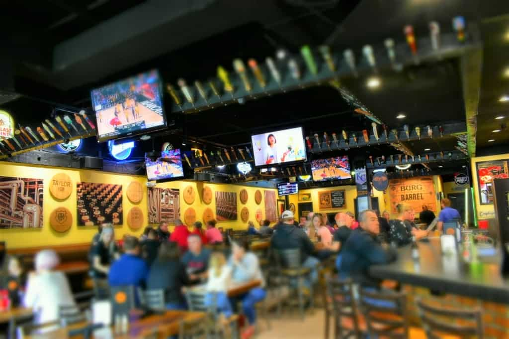 It is easy to find menu dishes that will have you tapping into taste at Burg and Barrel.
